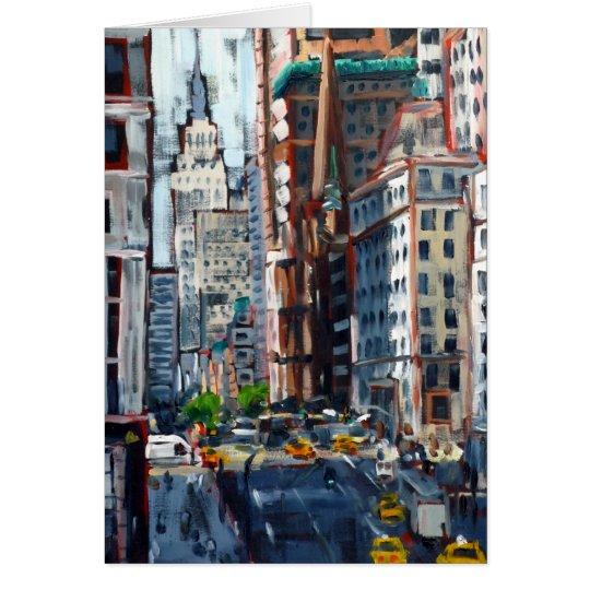 Fifth Avenue Card