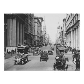 Fifth Avenue & East 34th Street New York City 1907 Print