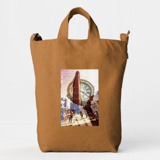 Fifth avenue flat iron building duck bag