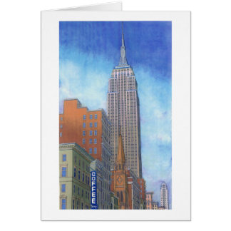 Fifth Avenue Morning Card
