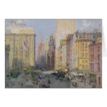 Fifth Avenue, New York, 1913 Card