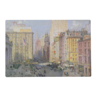 Fifth Avenue, New York, 1913 Laminated Placemat