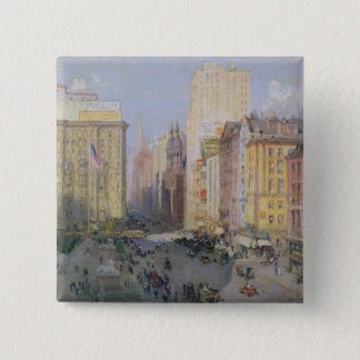 Fifth Avenue, New York, 1913 Pinback Button