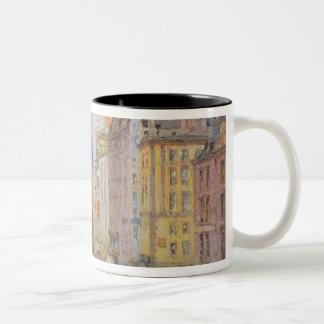 Fifth Avenue, New York, 1913 Two-Tone Coffee Mug