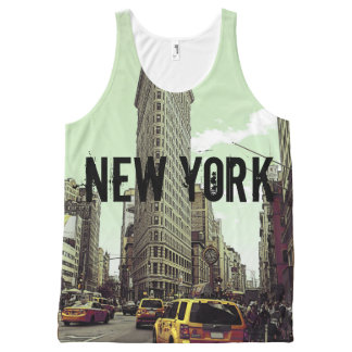 Fifth Avenue New York All-Over-Print Tank Top