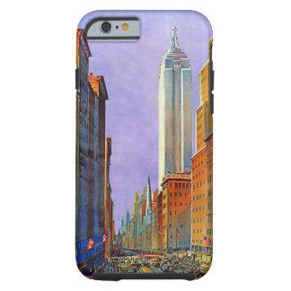 Fifth Avenue New York Art Deco Vintage Tough iPhone 6 Case