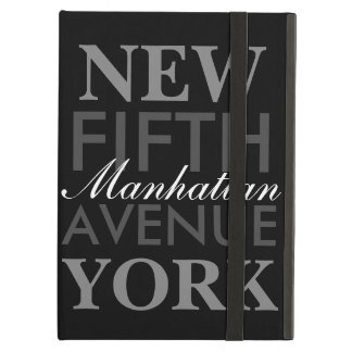 Fifth Avenue New York Cover For iPad Air