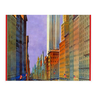 Fifth Avenue, New York Postcard