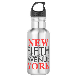 Fifth Avenue New York Water Bottle
