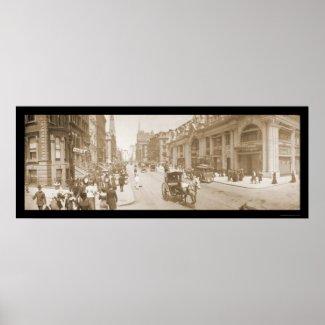 Fifth Avenue NYC Parade Photo 1902 print