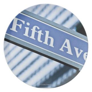 Fifth Avenue Plates