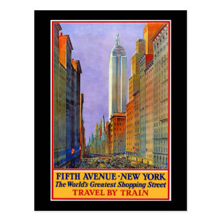 Fifth Avenue Postcard