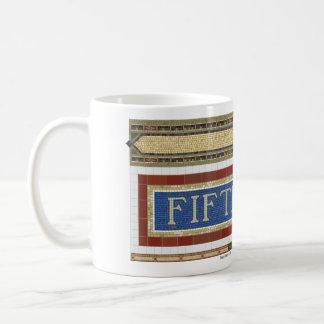 Fifth Avenue Subway Mosaic Coffee Mug
