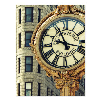 Fifth Avenue Time Postcard