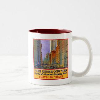 Fifth Avenue Two-Tone Coffee Mug