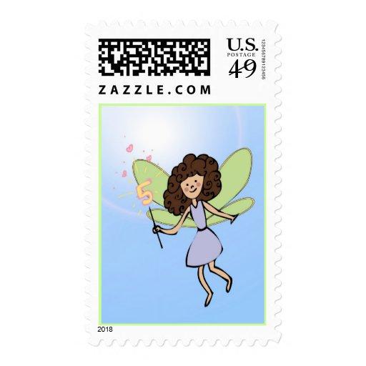 Fifth Birthday Fairy Postage
