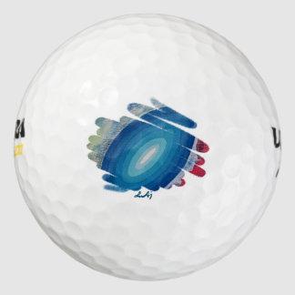 Fifth Chakra Blue Golf Ball 12 Pack Pack Of Golf Balls