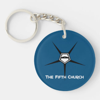 Fifth church keyholder [SCP Foundation] Keychain