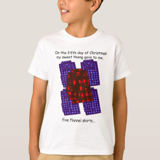 Fifth Day Redneck Christmas T-Shirt