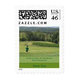Fifth Grade of Boyhood Postage Stamp