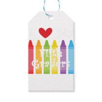 Fifth grade teacher gift tags