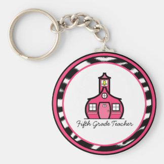 Fifth Grade Teacher Keychain