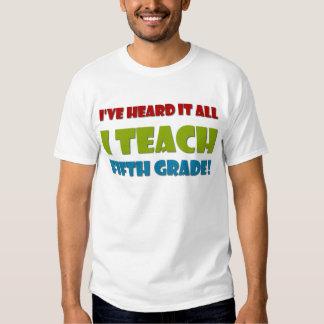 Fifth Grade Teacher Tee Shirt