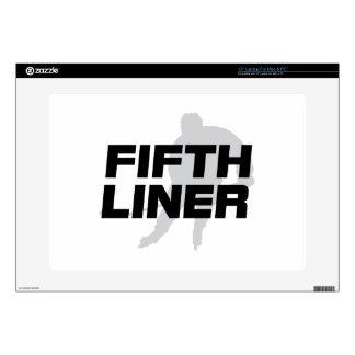 """Fifth Liner 15"""" Laptop Skins"""