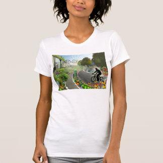 Fifth Sacred Biking in 2048 w. Spiral Back T-Shirt