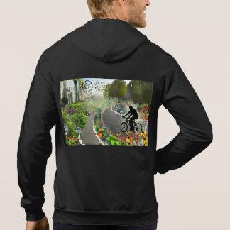 Fifth Sacred Biking in 2048 w. Spiral Hoodie