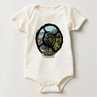 Fifth Sacred City Detail Baby Bodysuit