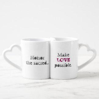 Fifth Sacred Make Love Possible Coffee Mug Set