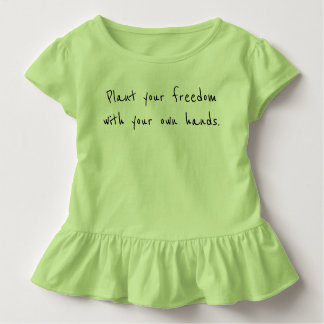 Fifth Sacred Plant Your Freedom Toddler T-shirt