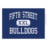 Fifth Street Bulldogs Middle Bangor Maine Cards