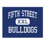 Fifth Street Bulldogs Middle Bangor Maine Postcard