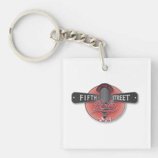 Fifth Street Radio Acrylic Keychain