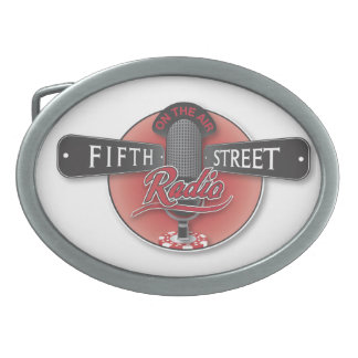 Fifth Street Radio Belt Buckle