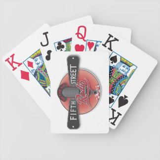 Fifth Street Radio Playing Cards - Jumbo Index