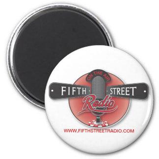 Fifth Street Radio Round/Square Magnet