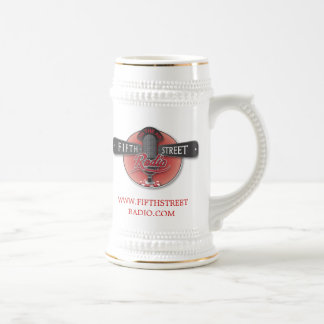Fifth Street Radio Stein Coffee Mug