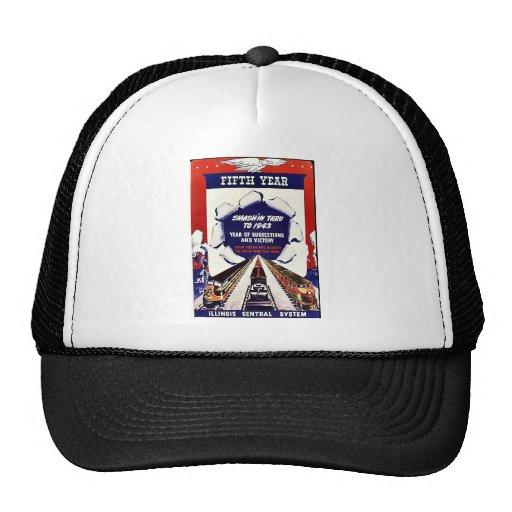 Fifth Uear, Smash In Thru To 1943 Trucker Hat