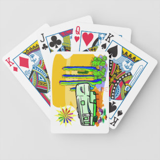 Fifth Wheel: Desert Delightful Poker Cards