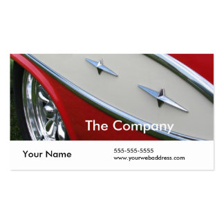 Fifties Bling Double-Sided Standard Business Cards (Pack Of 100)