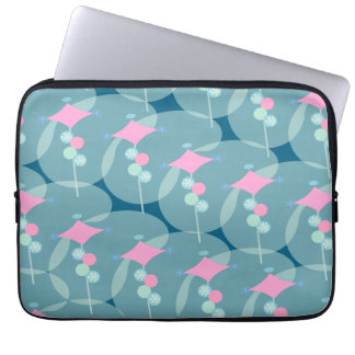Fifties Bubble Trouble Laptop Sleeve