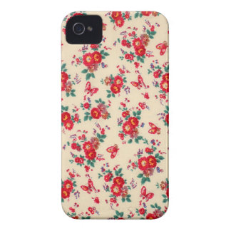 Fifties florals from PJ. iPhone 4 Case-Mate Case