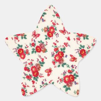 Fifties florals from PJ. Star Sticker