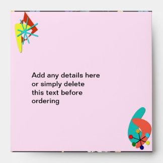 Fifties Girl envelopes