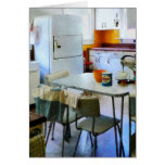 Fifties Kitchen Greeting Card
