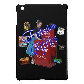 Fifties Memorbilia icons Cover For The iPad Mini
