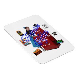 Fifties Memorbilia icons Magnet